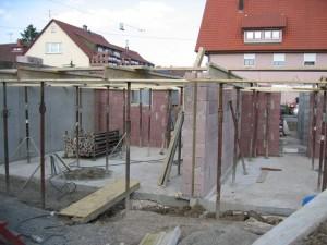 Garagenstützen