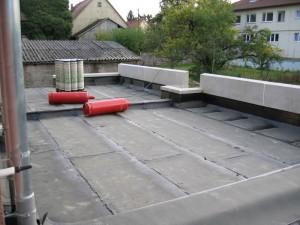 Terrasse 1. Dichtungsschicht