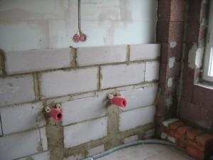 Vorbau Waschbecken