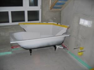 Anschluß Badewanne
