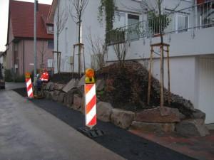 Strassenpflasterung