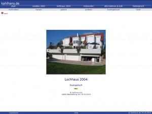 Webseite Hausbau