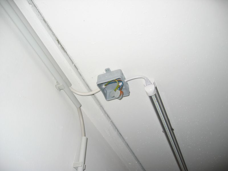 Anschluss Lampe