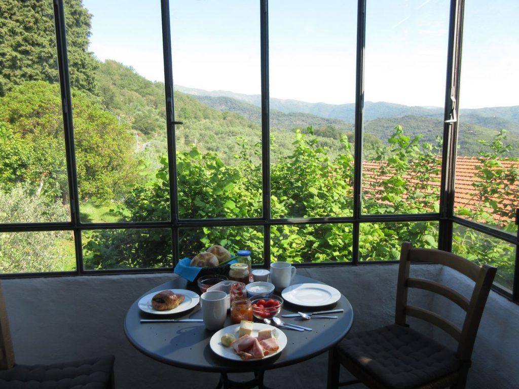 Frühstück mit Aussicht