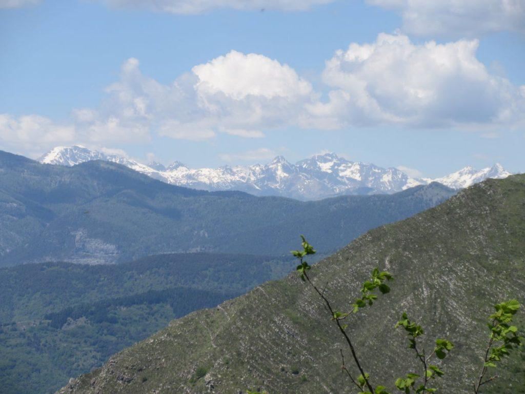 Passhöhe Schneeberge