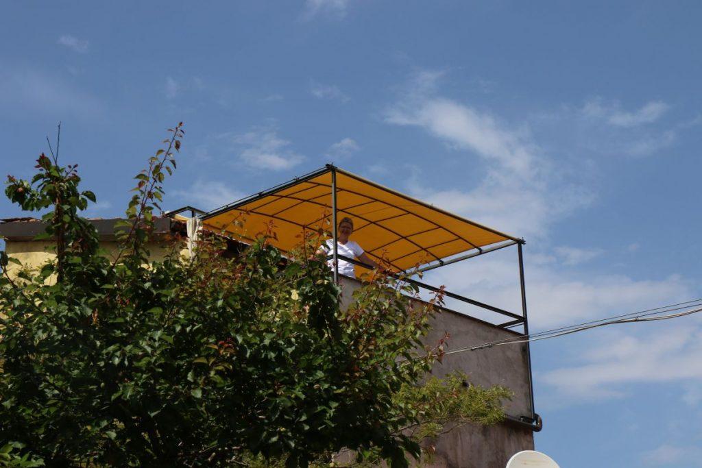 Dachterrasse (Hochsitz)