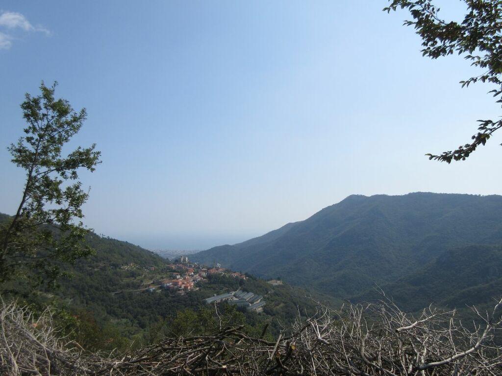 Blick ins Tal (Alassio)